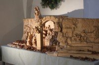Christmas exhibition in the Franciscan monastery in Hostinné town.