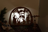 Christmas exhibition of nativity scenes at Old City Hall in Dvur Kralove nad Labem.