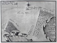 Map of New Forest from 1726.